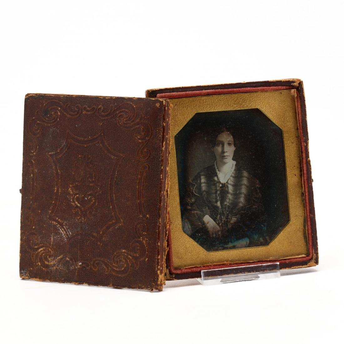 Identified Sixth Plate Daguerreotype of a Comely Young