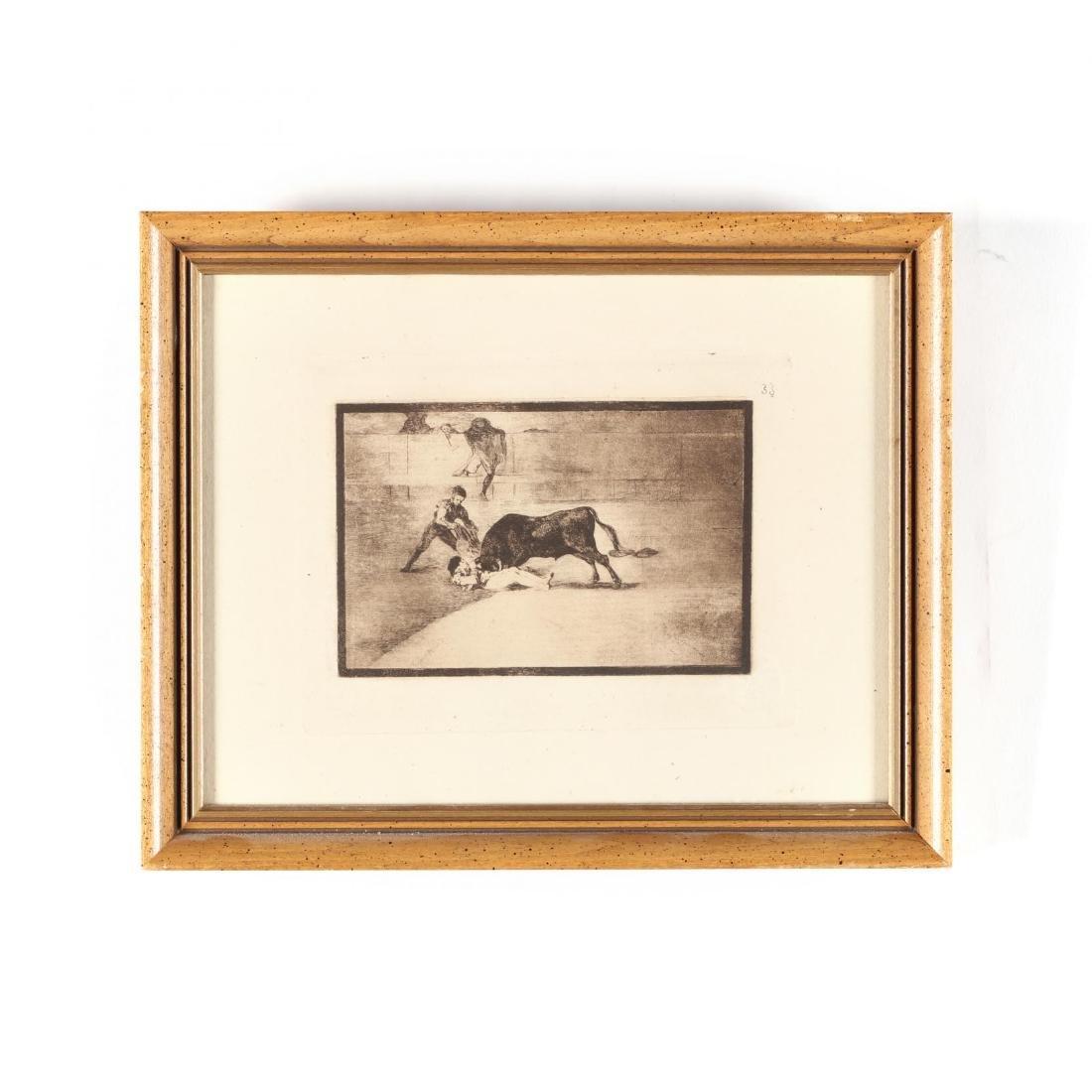 Francisco de Goya (Spanish, 1746-1828),  La Desgraciada