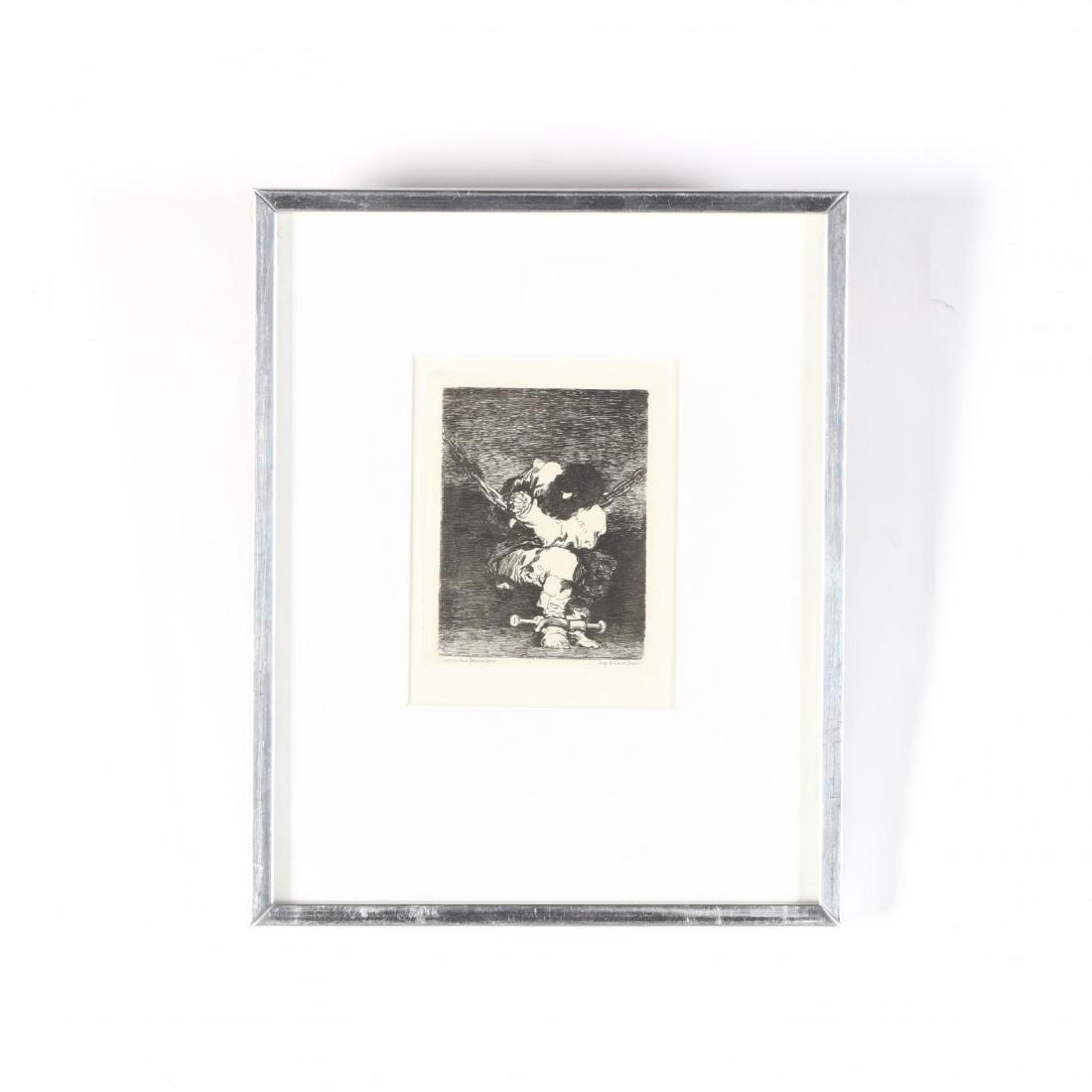 Francisco de Goya (Spanish, 1746-1828),  Tan bárbara