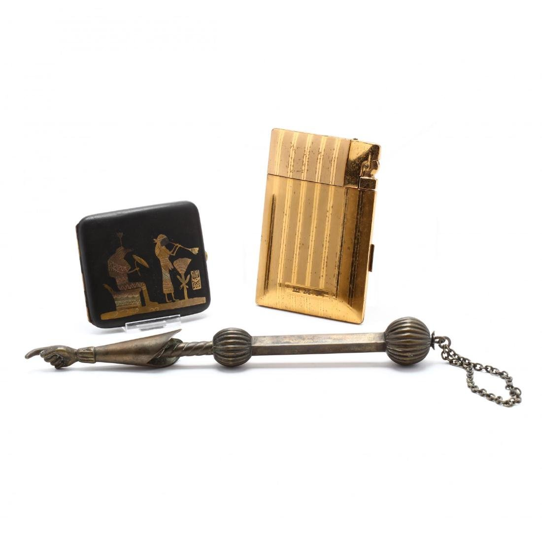 Torah Pointer and Cigarette Cases