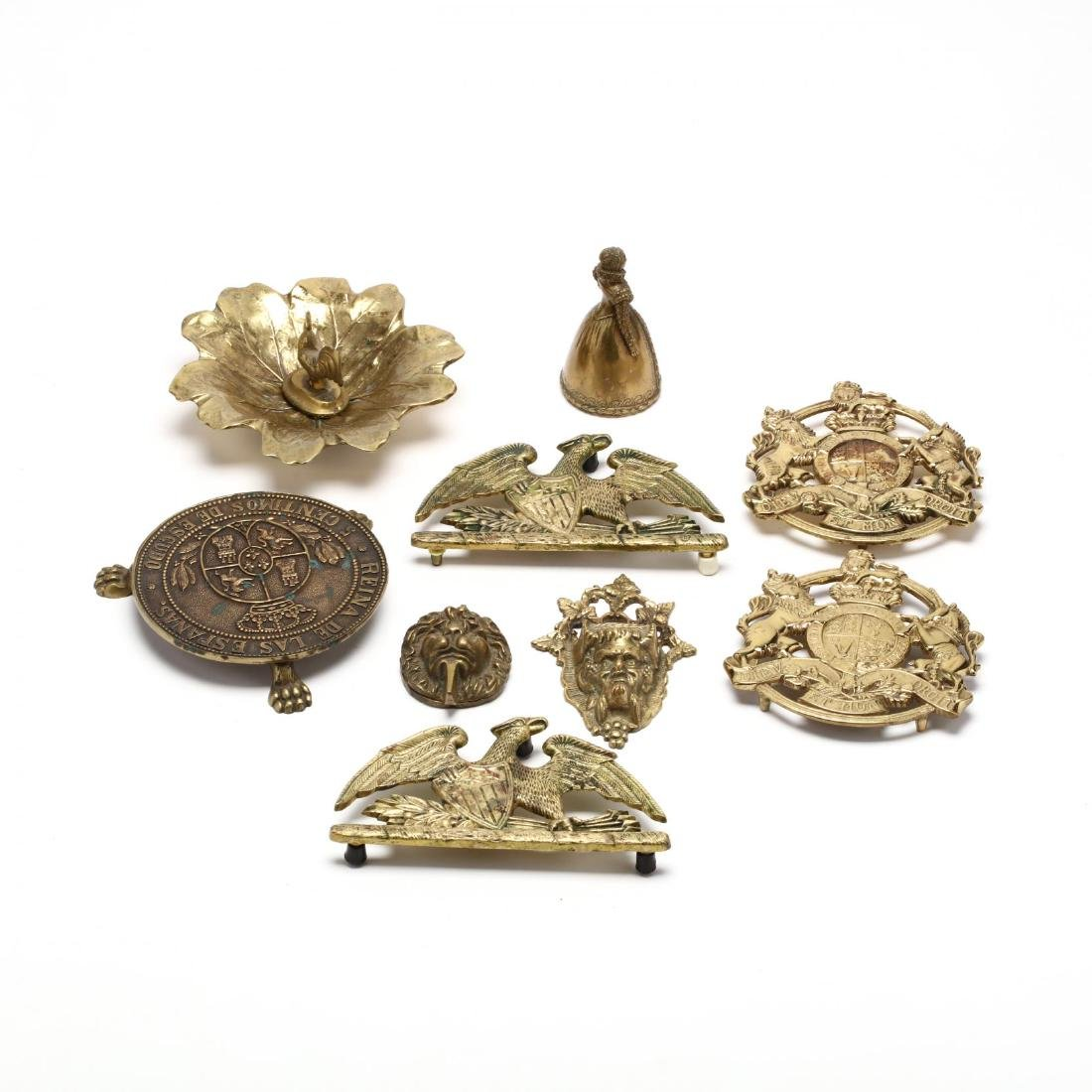Group of Brass Accessories incl. Virginia Metalcrafters