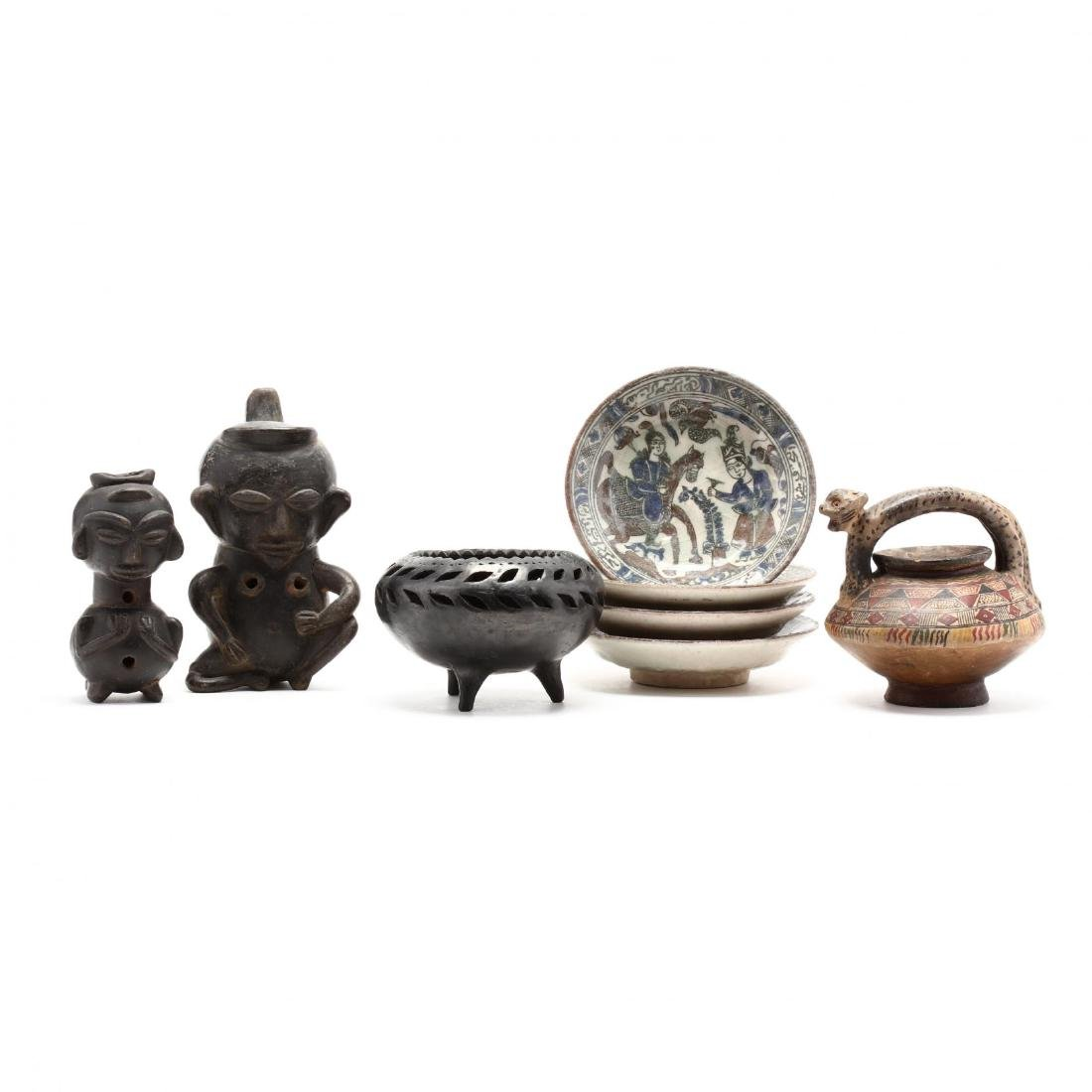 Ethnic Pottery Grouping