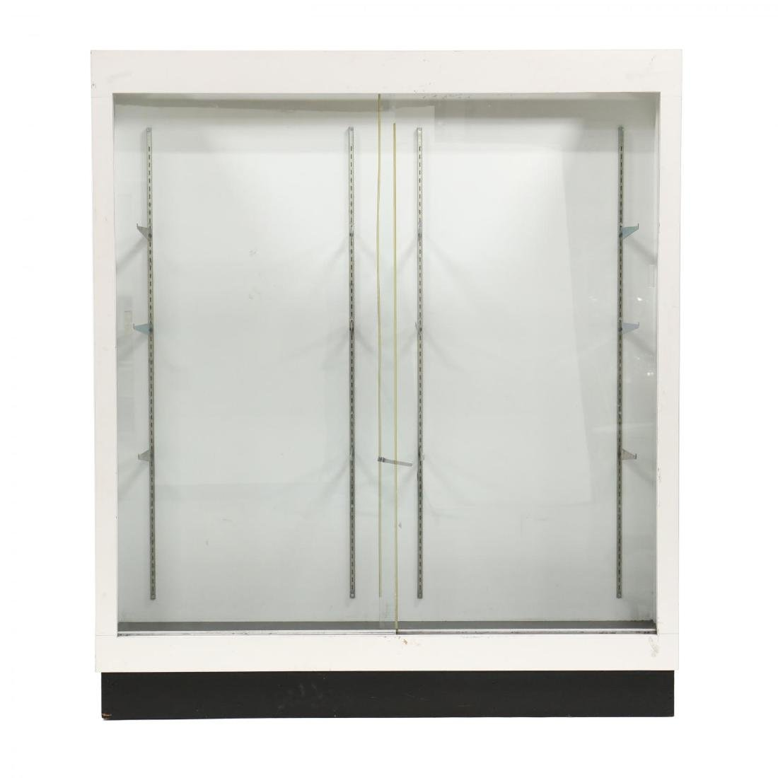 Modern Floor Model Display Case