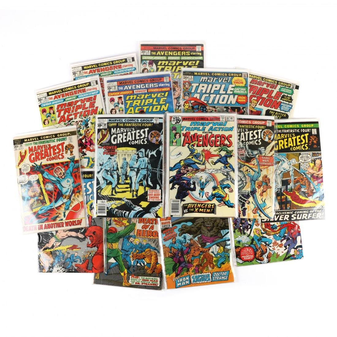 Marvel Triple Action  /  Marvel's Greatest Comics