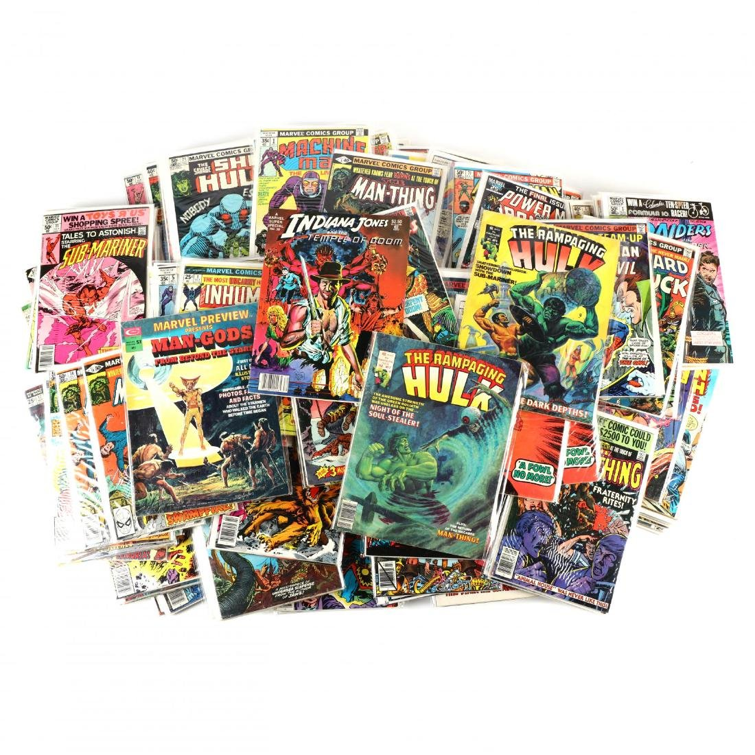 Large Group of Marvel Comics