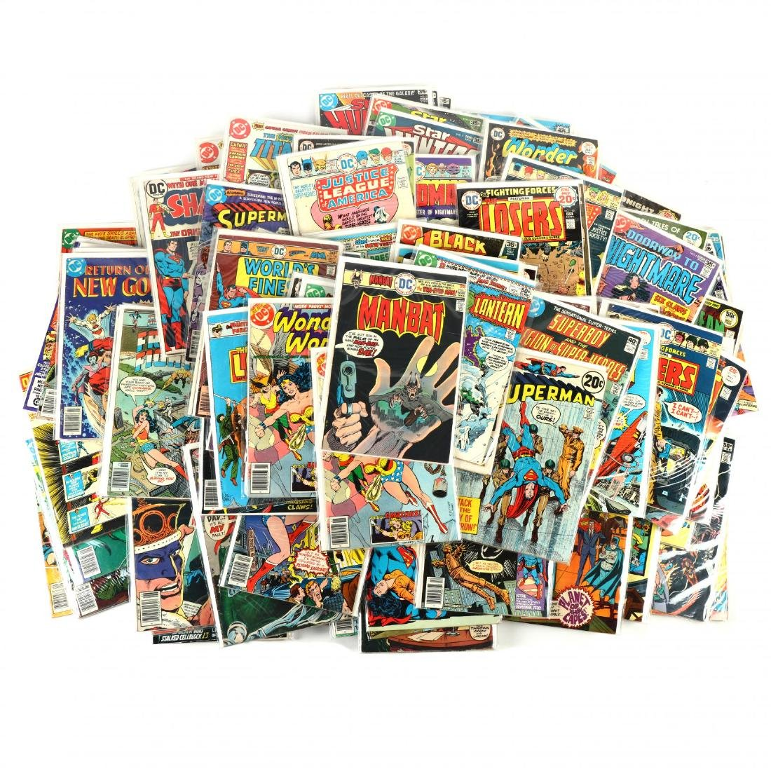 Large Group of DC Comics