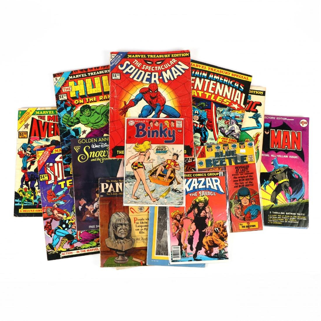 Miscellaneous Group of Comics and Magazines