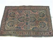 248 SemiAntique Persian Sarouk Area Rug
