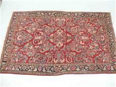 250 SemiAntique Persian Sarouk Area Rug