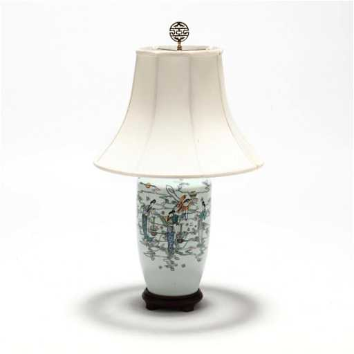 Chinese porcelain table lamp aloadofball Images