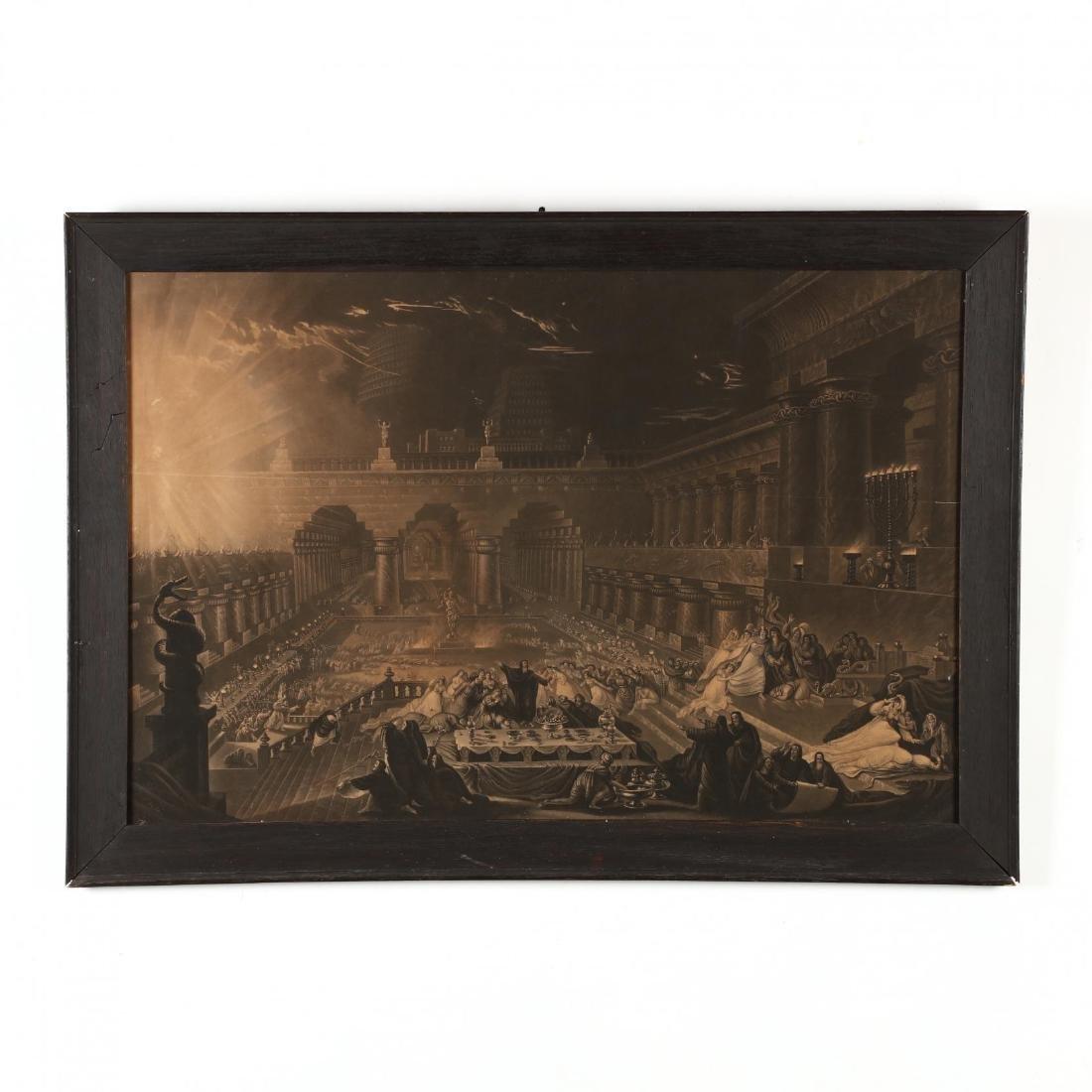 John Martin (British, 1789-1854),  Belshazzar's Feast