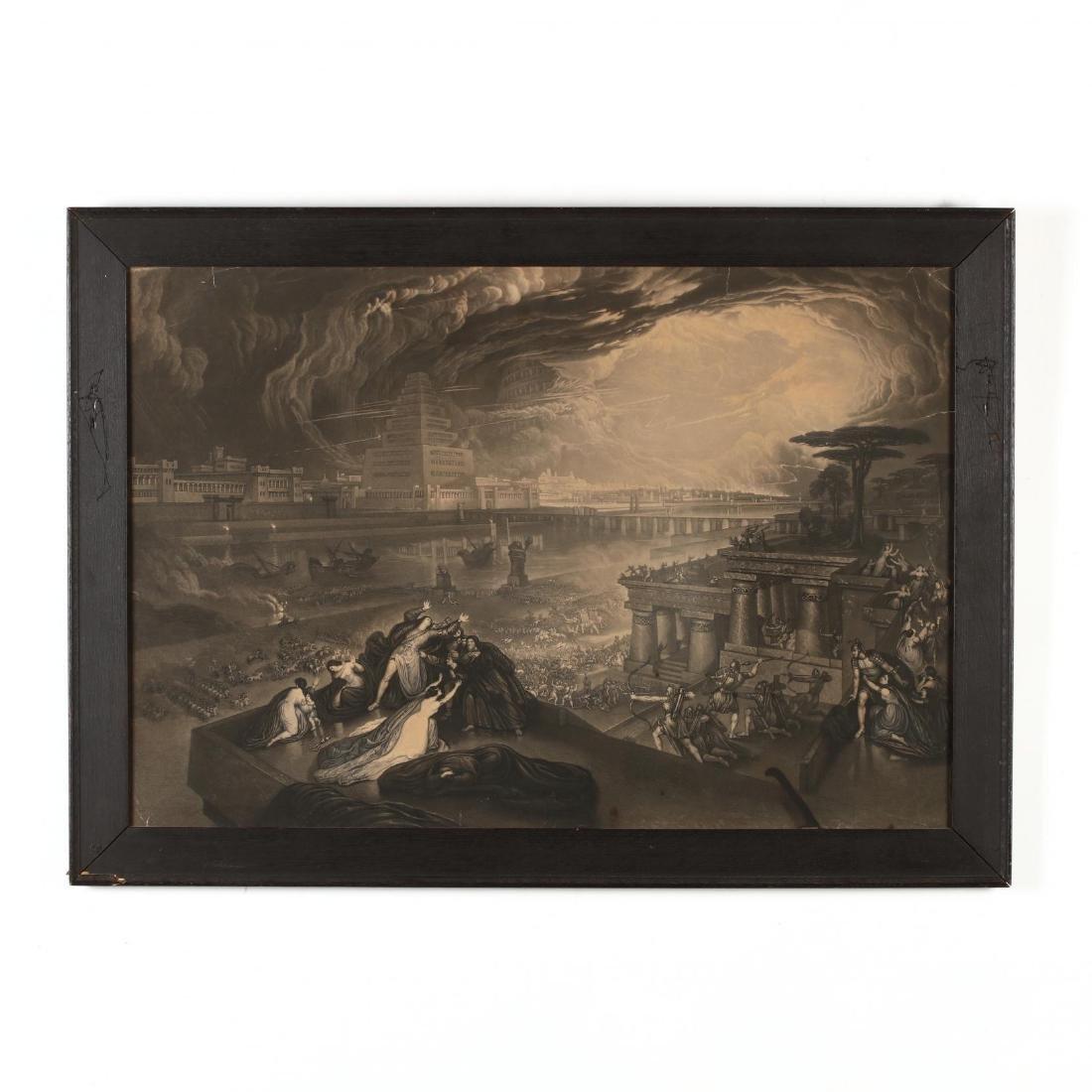 John Martin (British, 1789-1854),  The Fall of Babylon