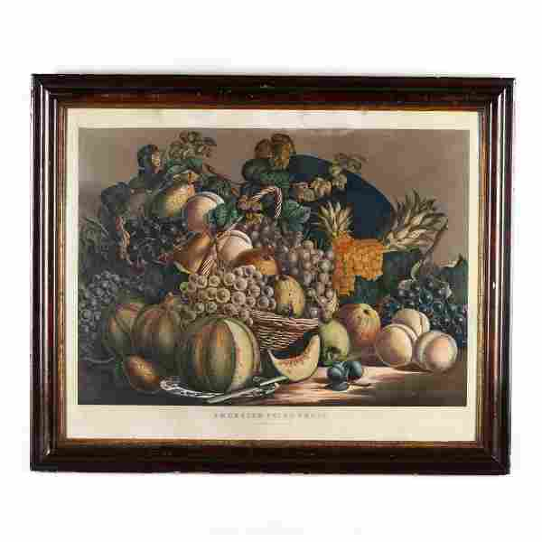 Currier & Ives,  American Prize Fruit  (1862)