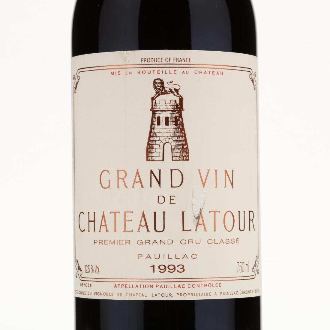 Chateau Latour - Vintage 1993 - 2