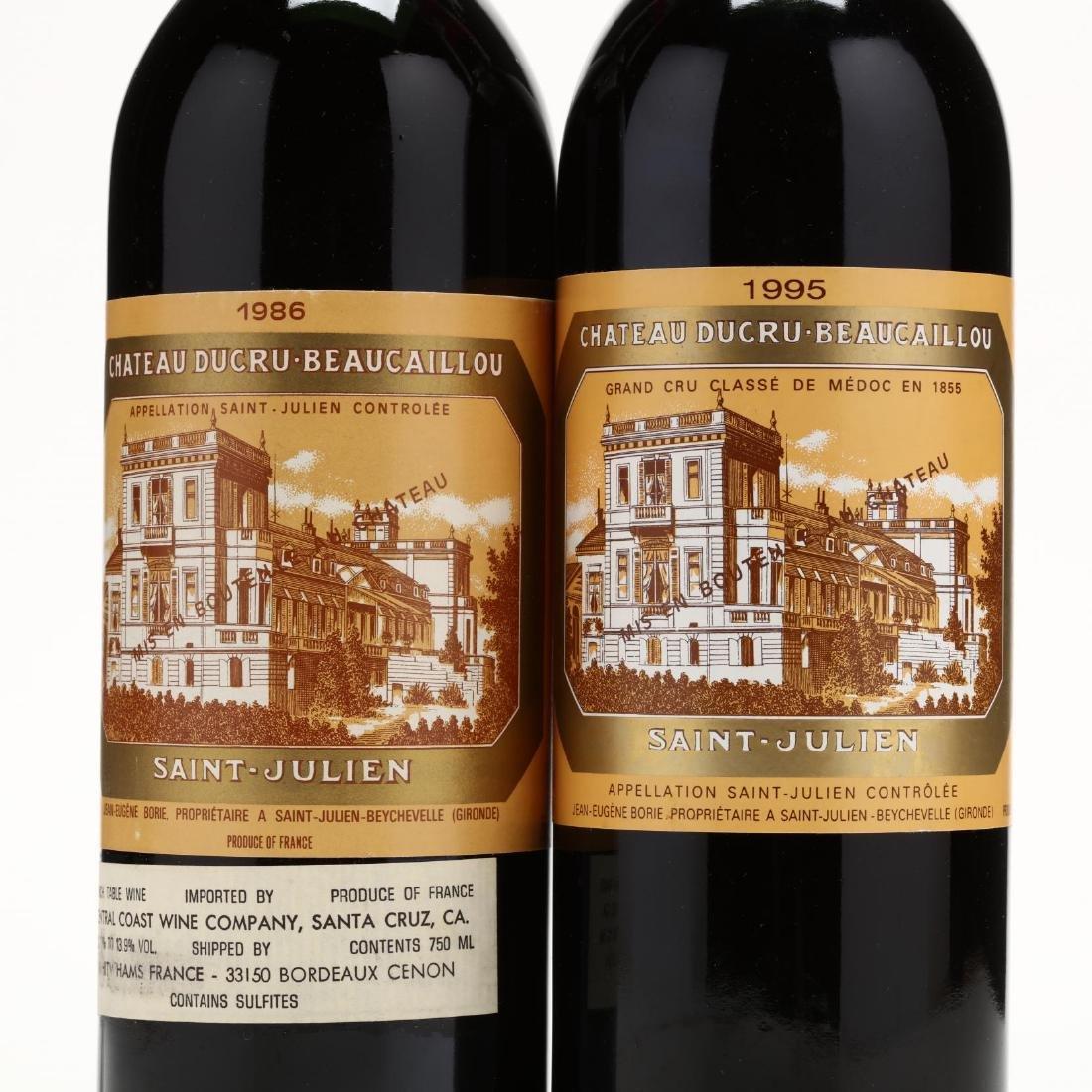 1986 & 1995 Chateau Ducru Beaucaillou - 2