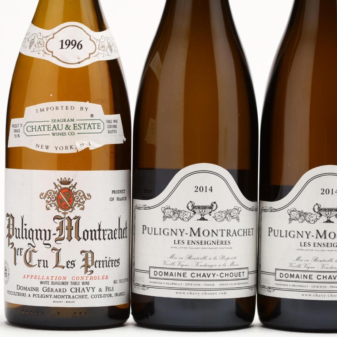 1996 & 2014 Puligny Montrachet - 2