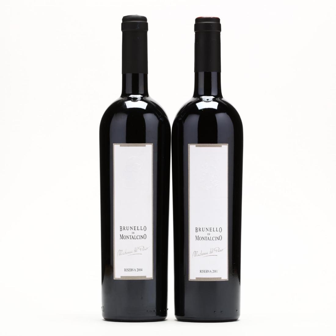 2001 & 2004 Brunello di Montalcino