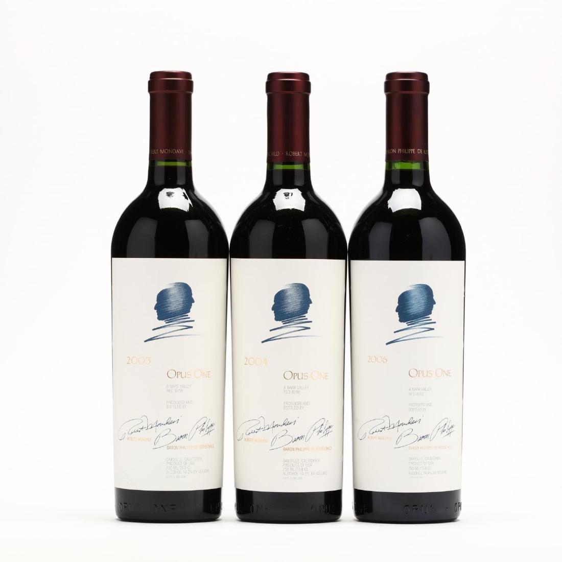 2003, 2004 & 2006 Opus One