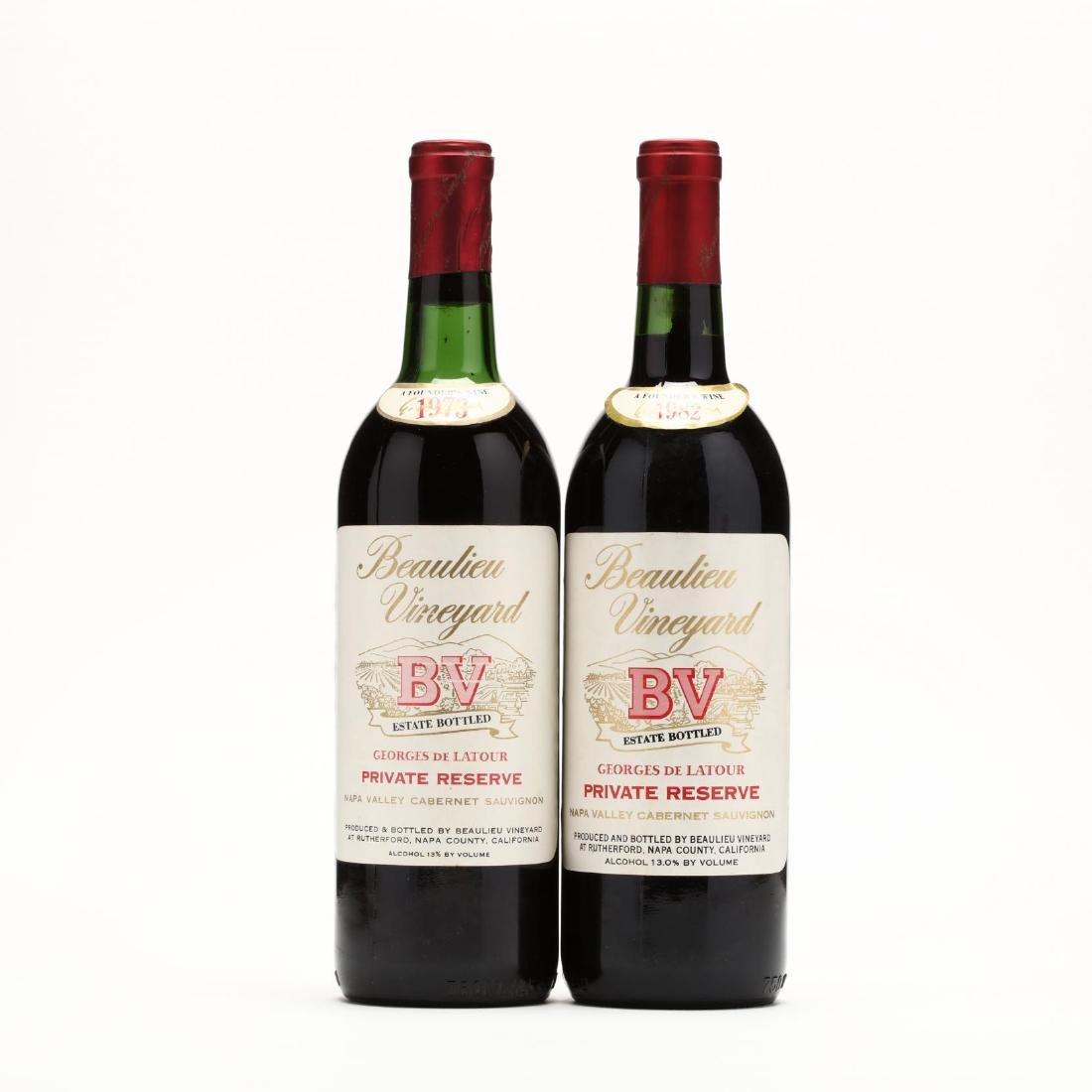 1973 & 1982 Beaulieu Vineyard
