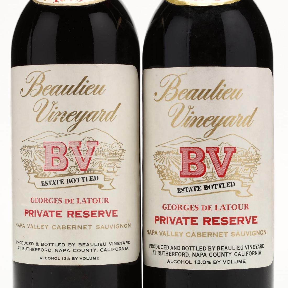 1973 & 1982 Beaulieu Vineyard - 2