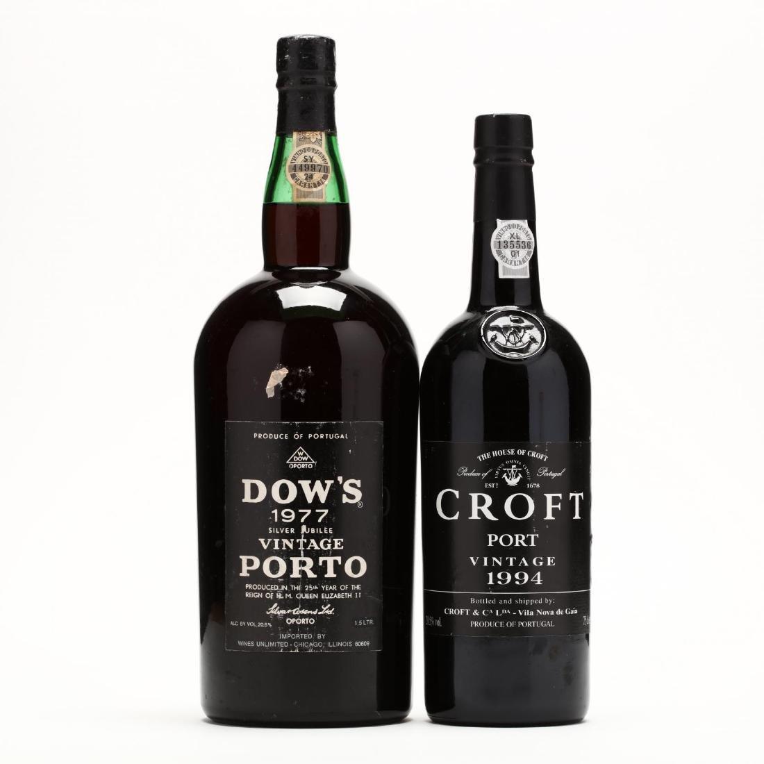 1977 & 1994 Vintage Port