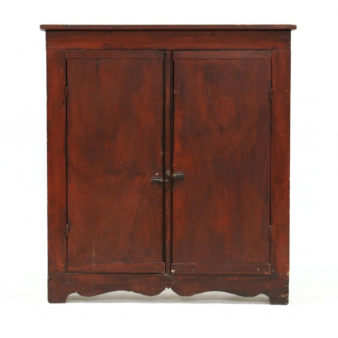 American Painted Jelly Cupboard