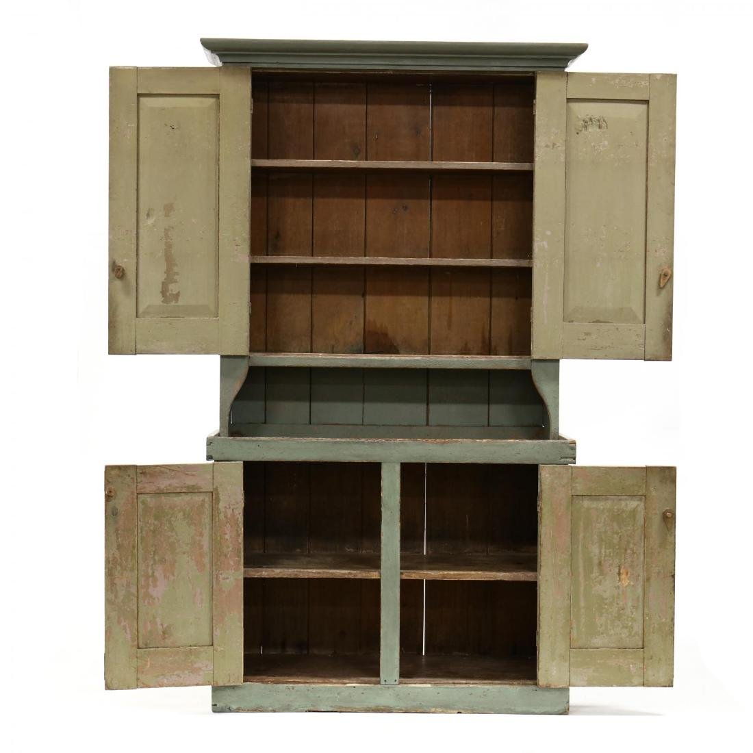 Southern Painted Stepback Flat Wall Cupboard - 2