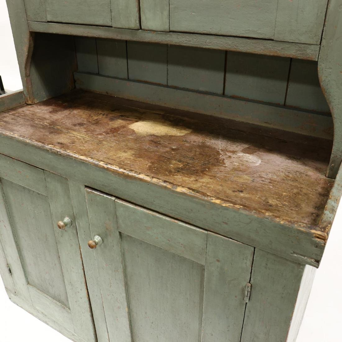 Southern Painted Stepback Flat Wall Cupboard - 3