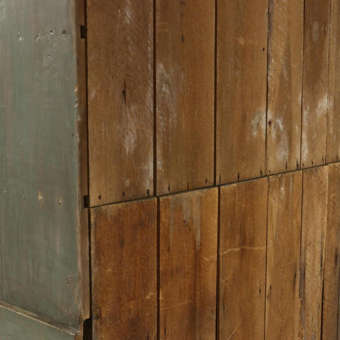 Southern Painted Stepback Flat Wall Cupboard - 5