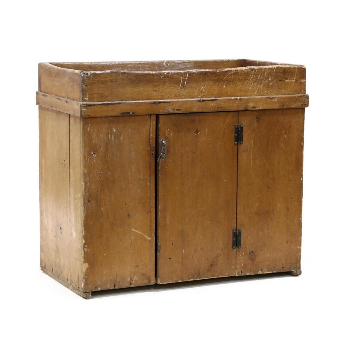 American Pine Dry Sink