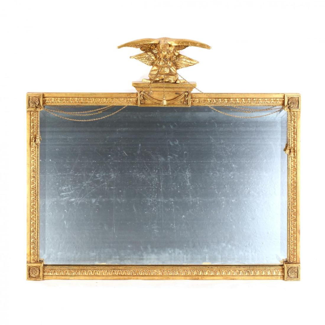 Friedman Brothers, Federal Style Overmantel Mirror
