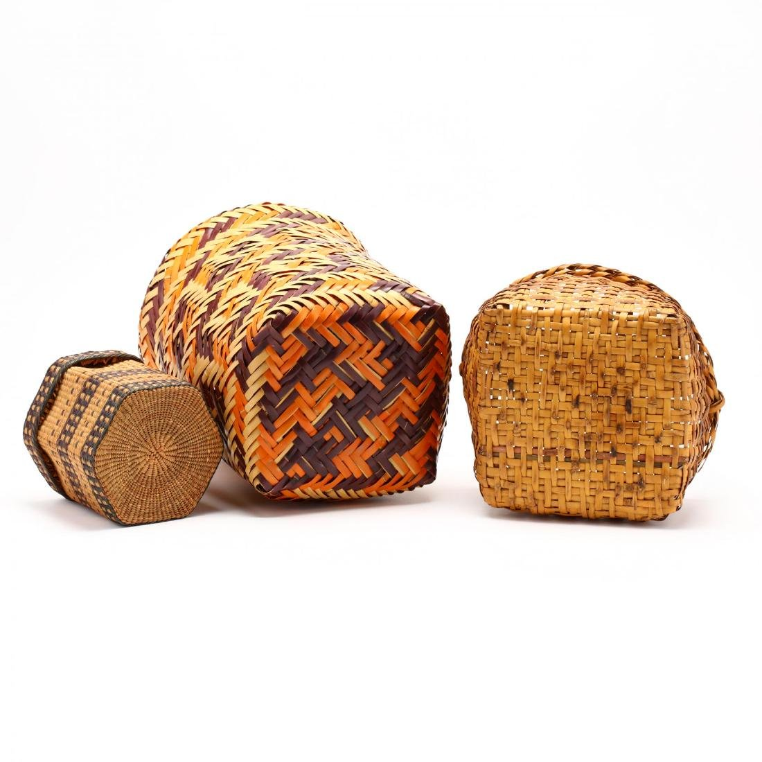 Three Native American Baskets - 3