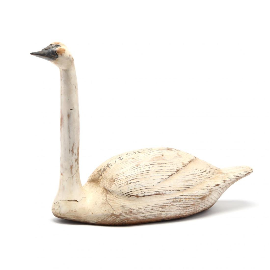A Carving of a Swan