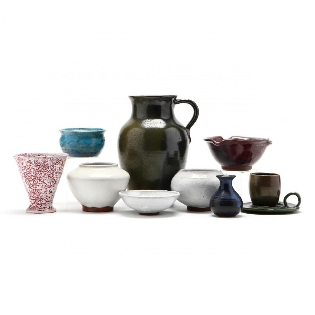 A Group of North Carolina Pottery