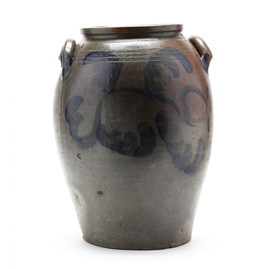 Salt Glazed Storage Jar