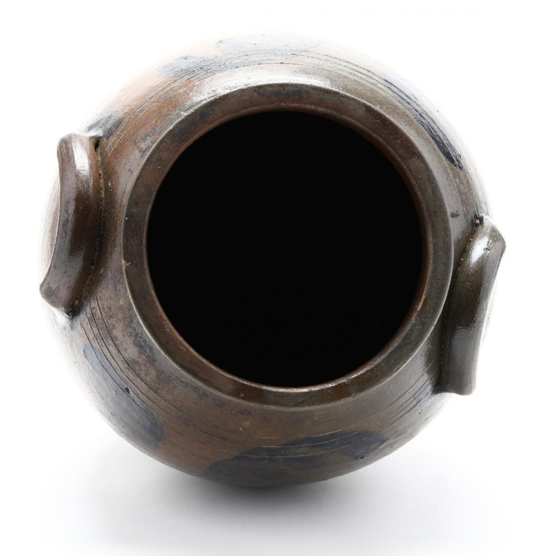 Salt Glazed Storage Jar - 5