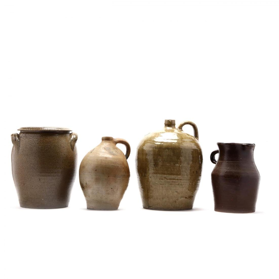 Four Utilitarian Pottery Vessels