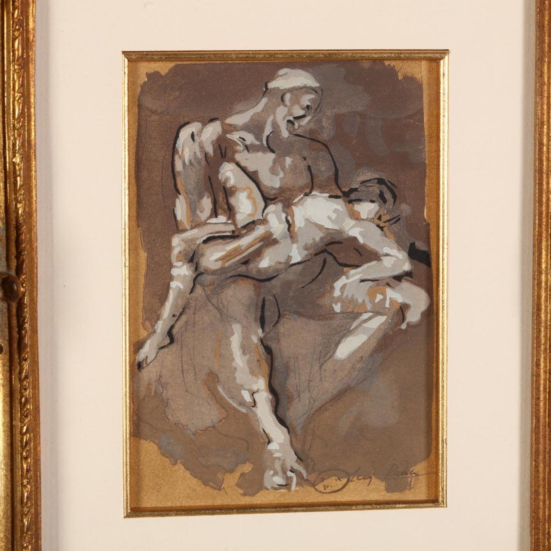 after Auguste Rodin (French, 1840-1917),  Ugolin Dans - 2