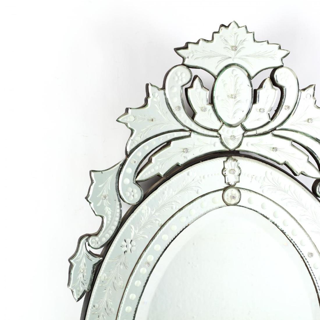 Venetian Etched and Beveled Mirror - 2