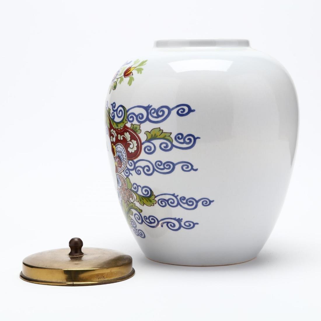 "Royal Copenhagen, ""Carolina"" Delft Jar - 3"