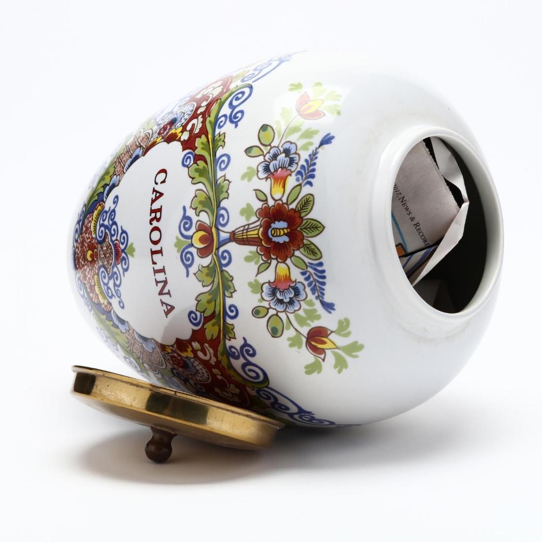 "Royal Copenhagen, ""Carolina"" Delft Jar - 4"