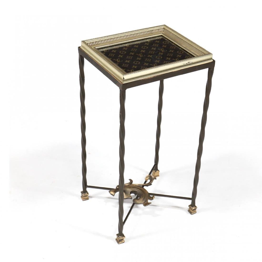 Custom Louis Vuitton Side Table