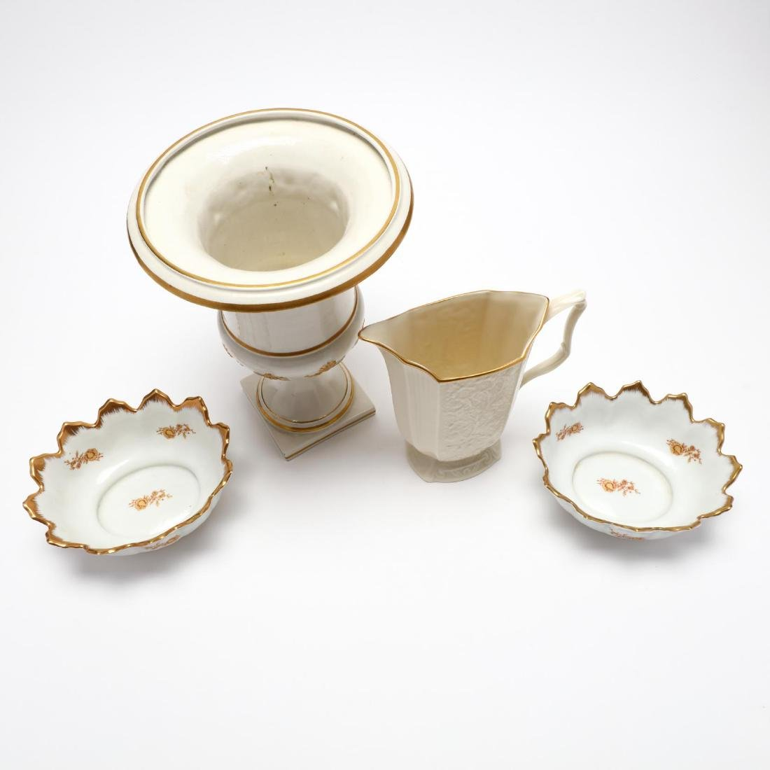 Group of Porcelain Serving Accessories - 2
