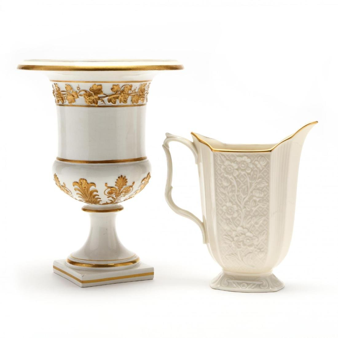 Group of Porcelain Serving Accessories - 5