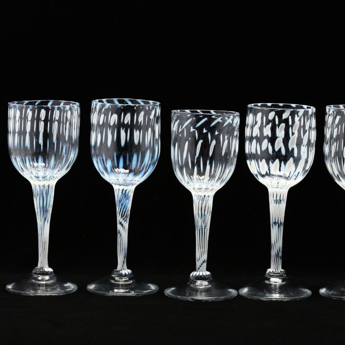 Cam Langley (AL), Set of Eight Art Glass Stems - 2