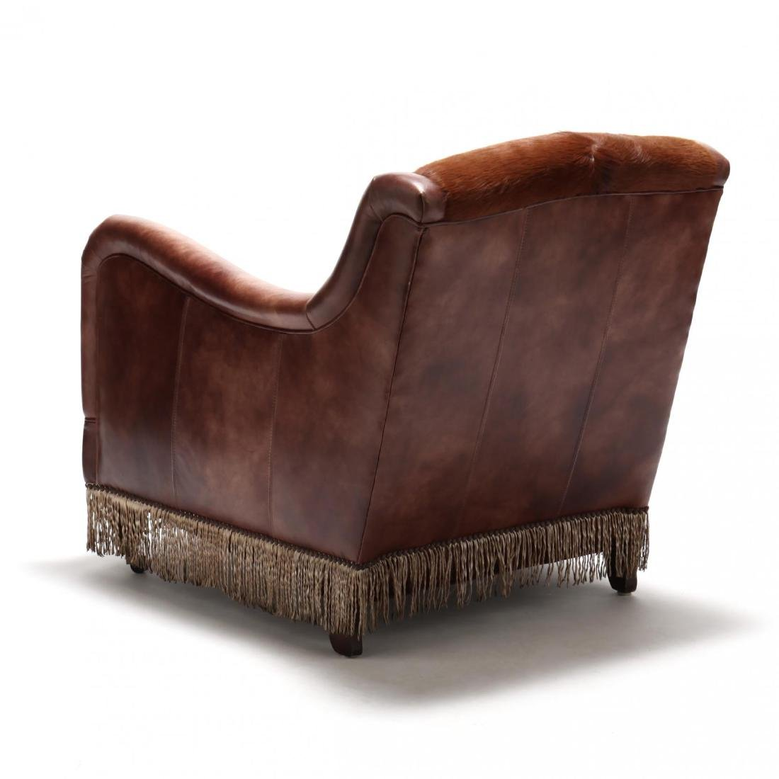 Southwestern Leather Club Chair - 4