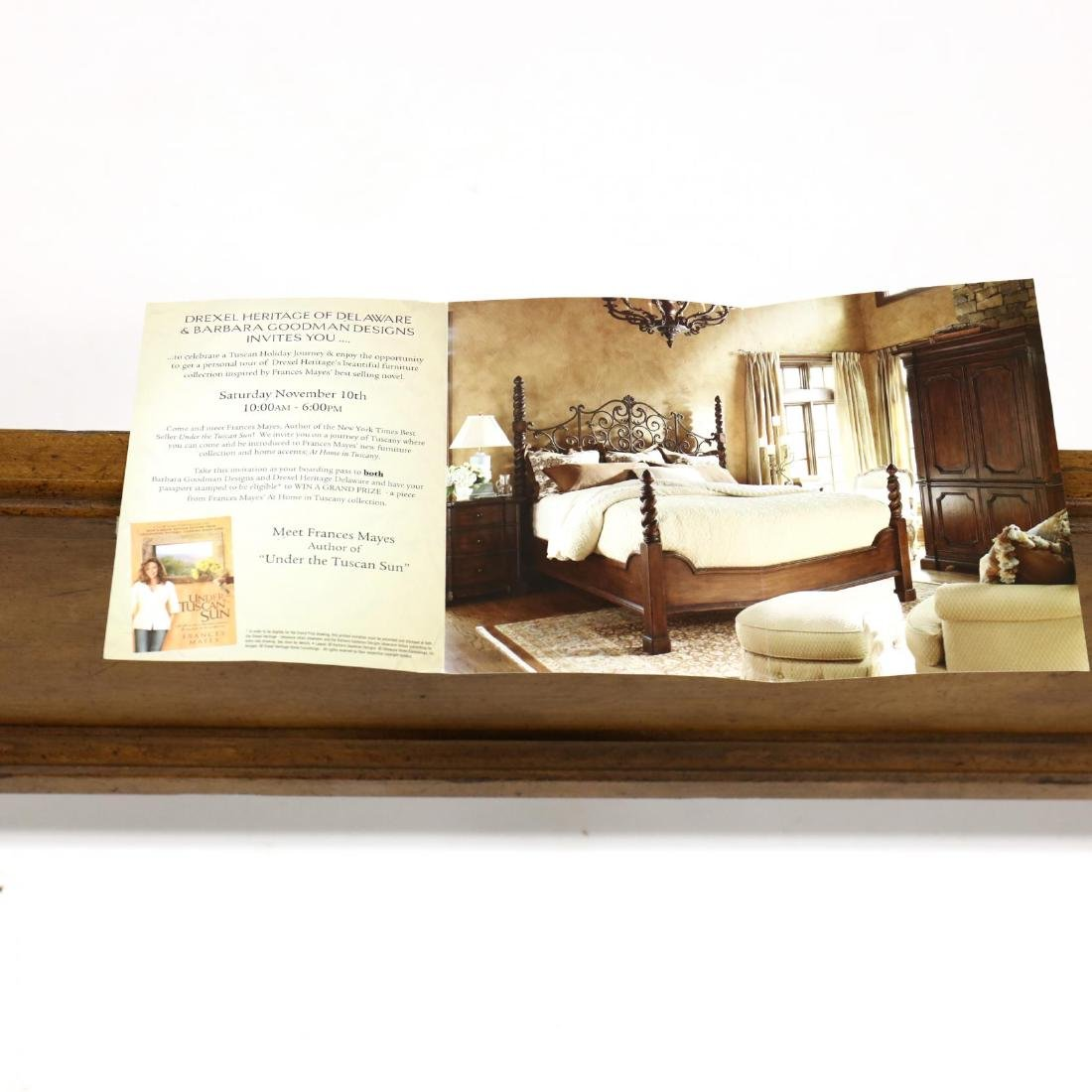 Drexel Heritage, Frances Mayes Inspired King Size Bed - 3