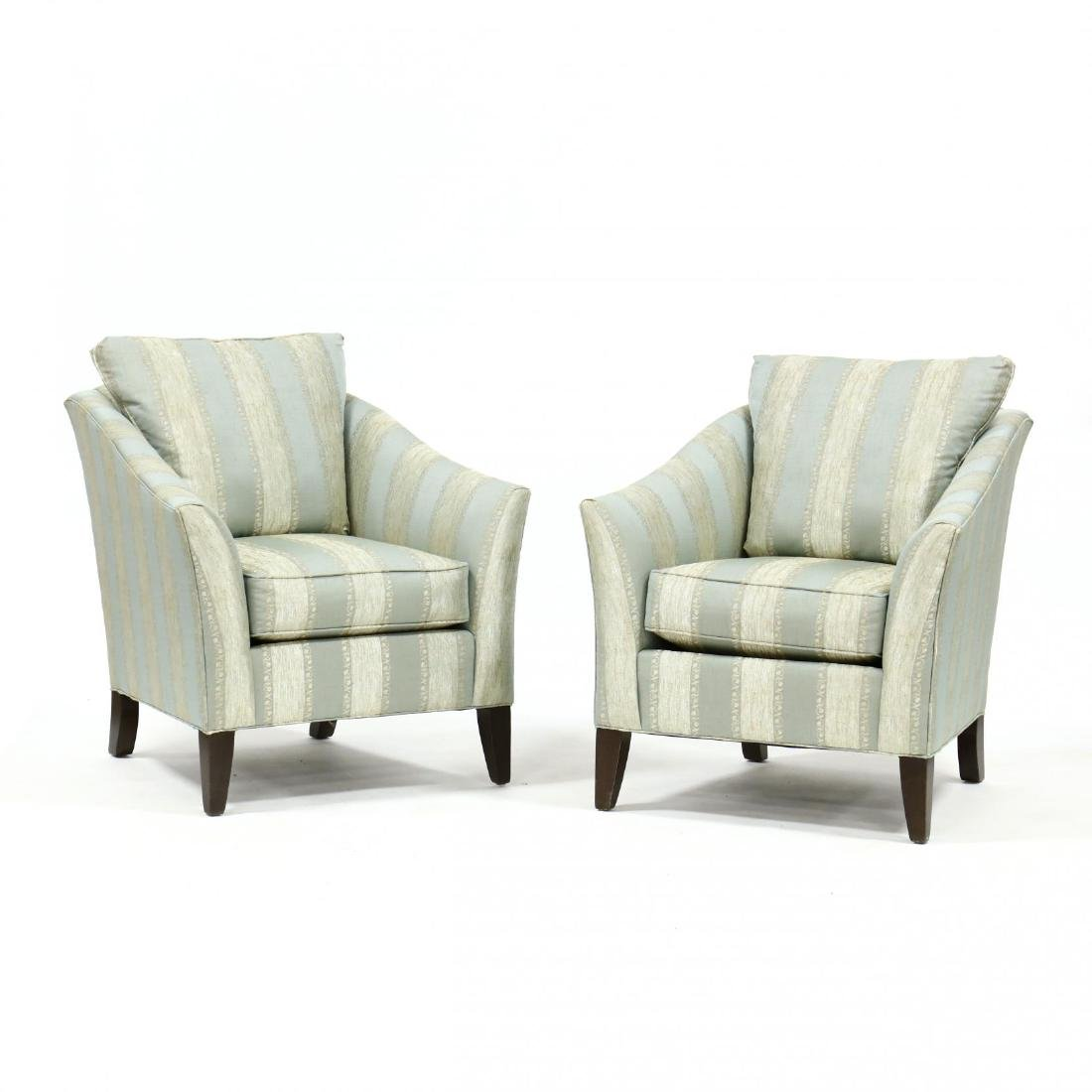 Ethan Allen, Pair of Club Chairs
