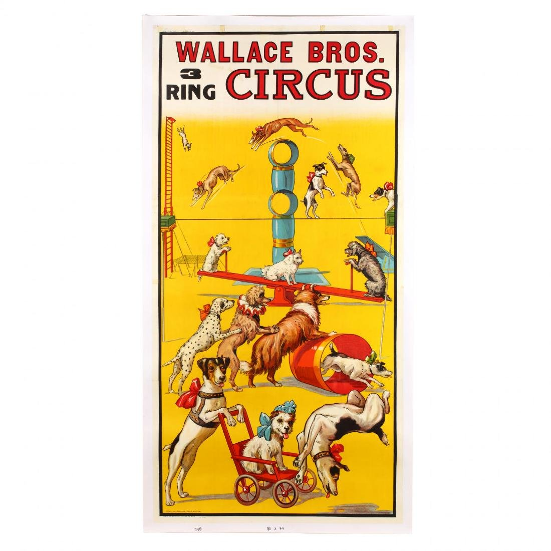 A Rare and Monumental Wallace Bros Three-Ring Vintage