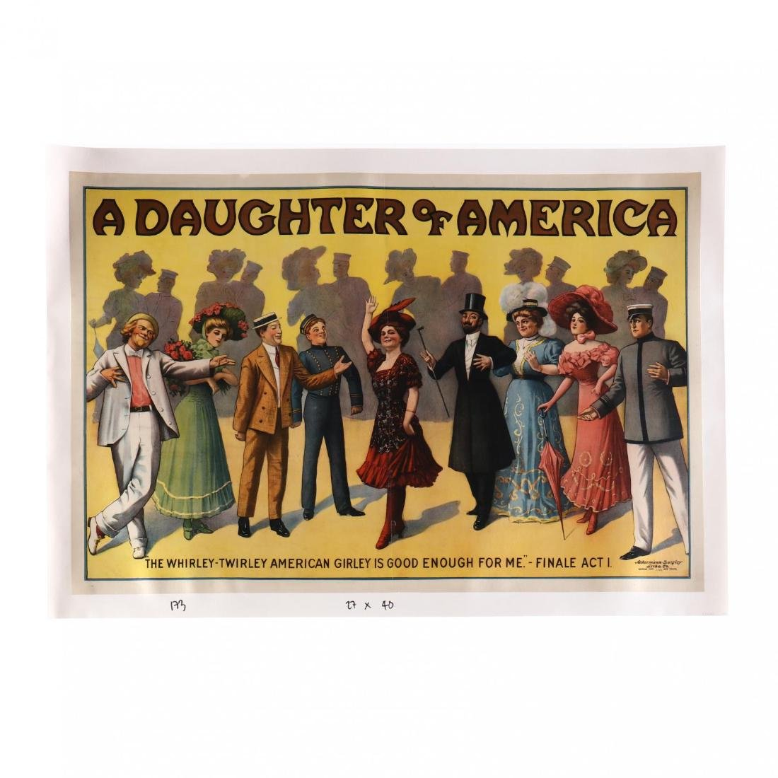 A Daughter of America - 'The Whirley-Twirley Amerian